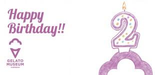 Happy 2nd Birthday Gelato Museum!